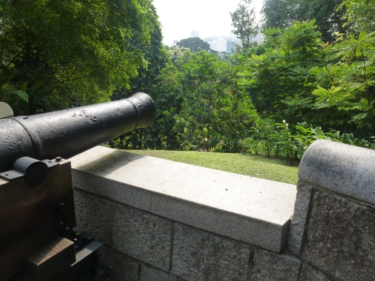 Fort Canning was once a small fortress