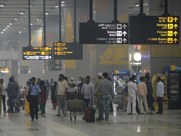 Terminal 3 in Indira Gandhi Airport