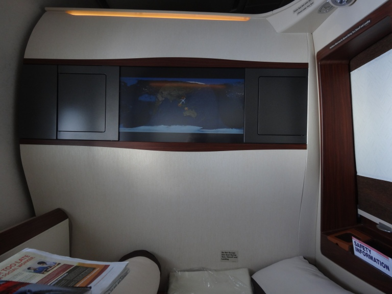 Inside an A380 Suite (the only pic I took)
