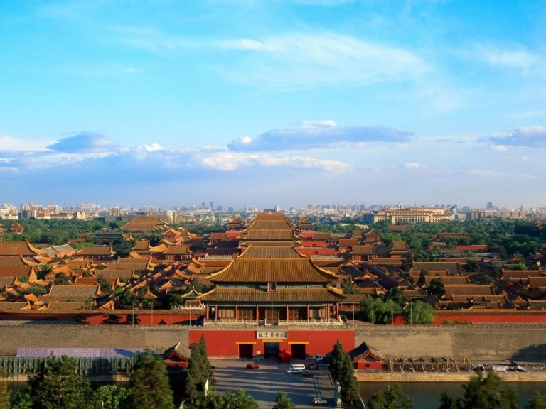 The Forbidden City from Jingshan Hill