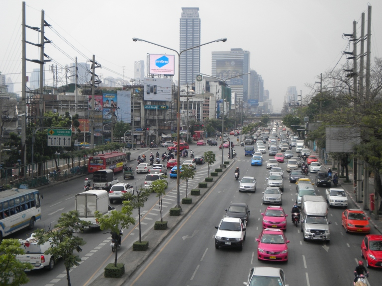 Bangkok is congested and polluted