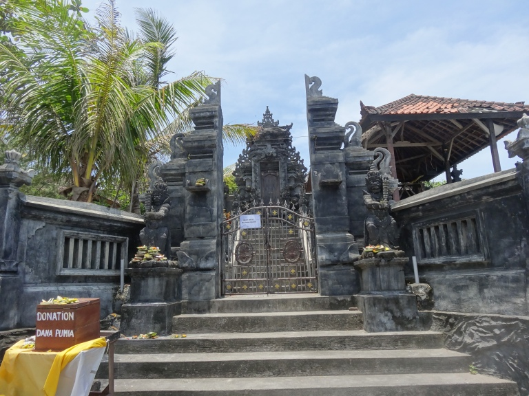 Through one of the temple's many gates