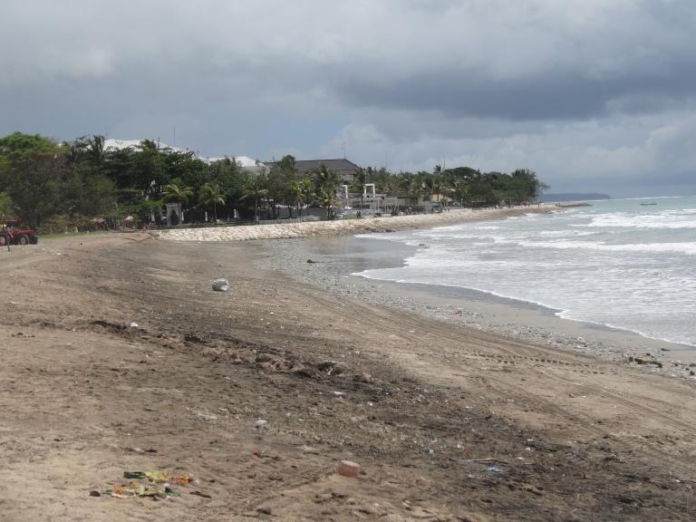 A typical Balinese beach