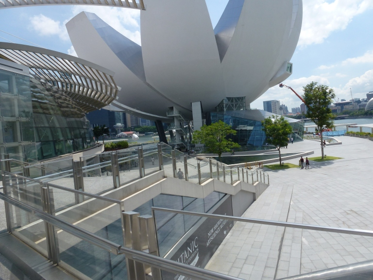 The Art Science Musuem at MBS