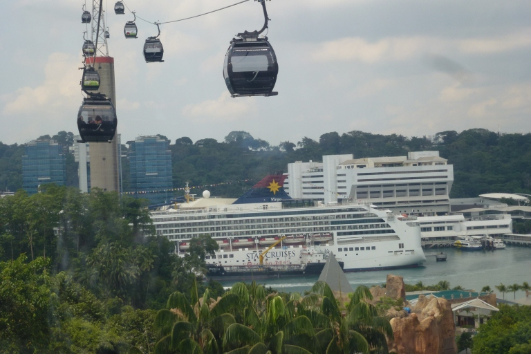 Arriving at Sentosa in style