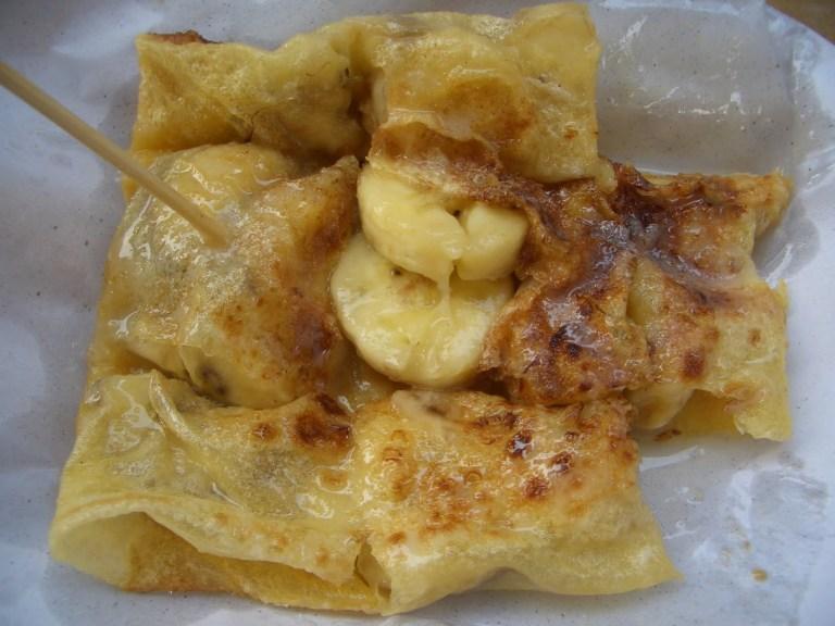 Thai Banana Roti