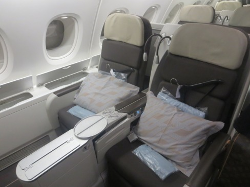 AF Business Class on the A380