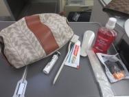 Business Class amenity kits