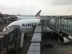 Boarding is always efficient with Air France