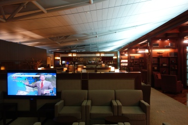 The Asiana First Class Lounge at Seoul Incheon