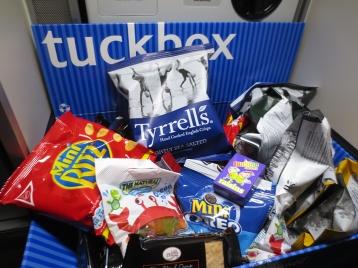 Economy class snacks