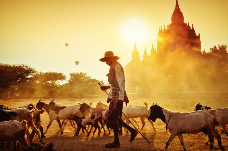 Life is far more laid-back in Bagan...