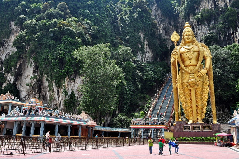 The Batu Caves