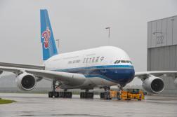 CZ A380 on the tarmac