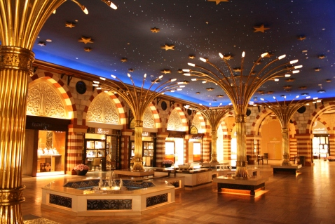 The Gold Souk in the Dubai Mall (photo courtesy of wikicommons)