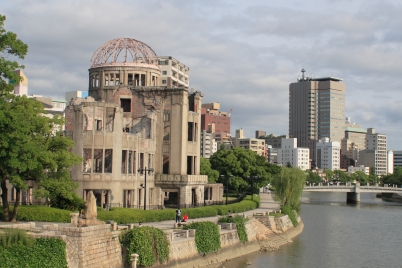 Hiroshima, the city of nuclear tragedy