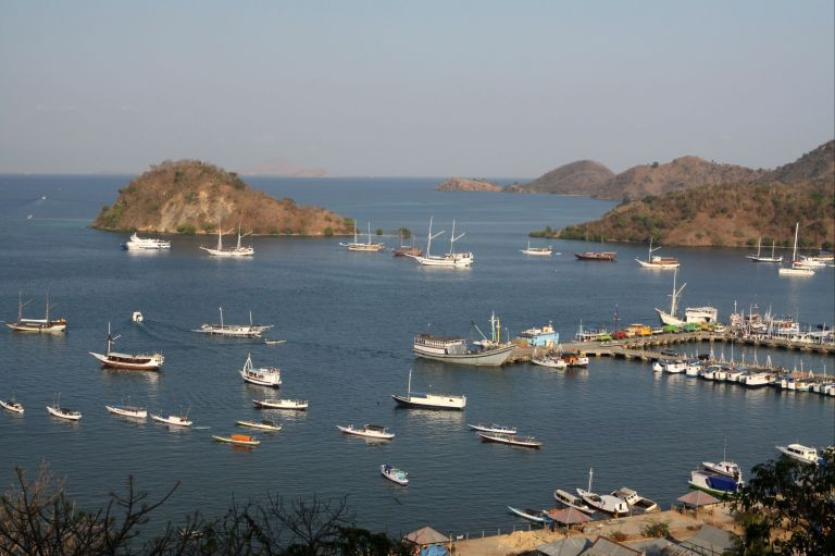 The Port of Labuan Bajo