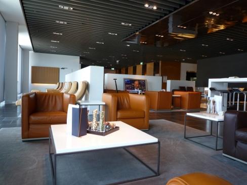 Lufthansa's First Class Lounge at Frankfurt