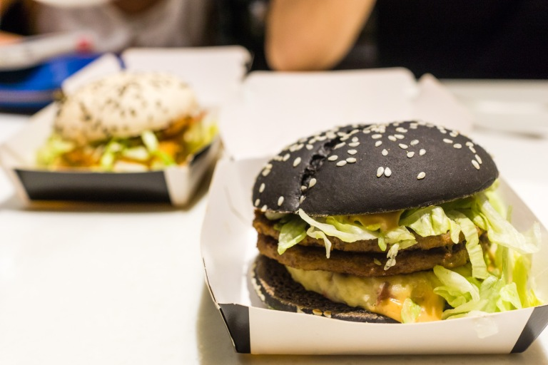 The infamous Black and White burgers began their life in Chinese McDonald's