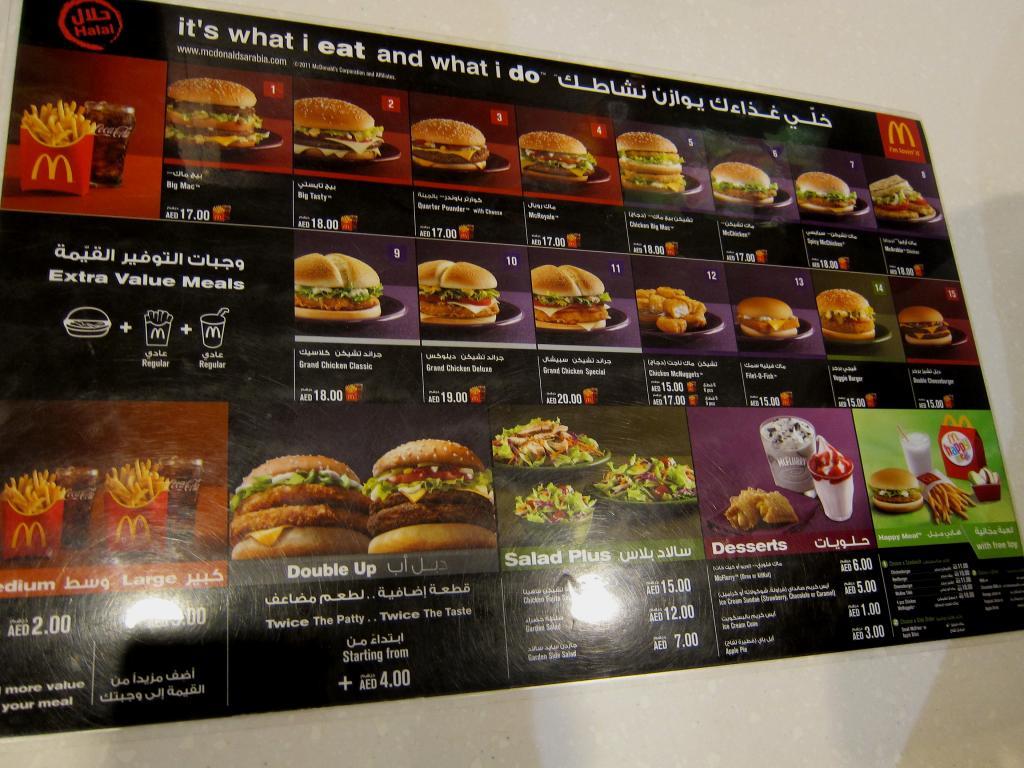 McDonald's Around the World | backpackerlee