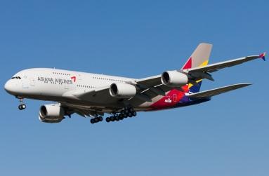 Asiana's beautiful A380