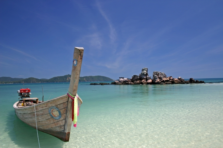 The Thai longboats of the Andaman coast are an iconic sight
