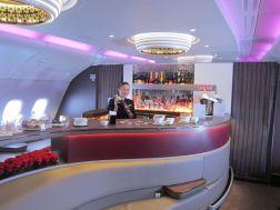 The Bar onboard Qatar's A380!