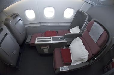 Qantas A380 Business Class