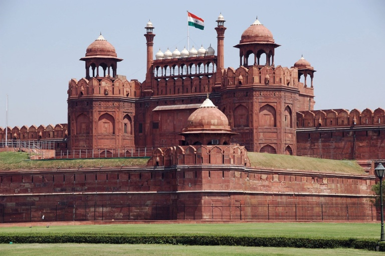 The Red Fort is a major attraction in India