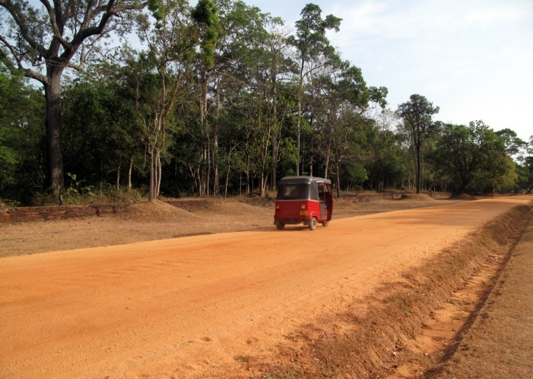 The long - and bumpy - road to Sigiriya