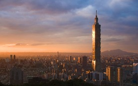 The best view in Taipei!