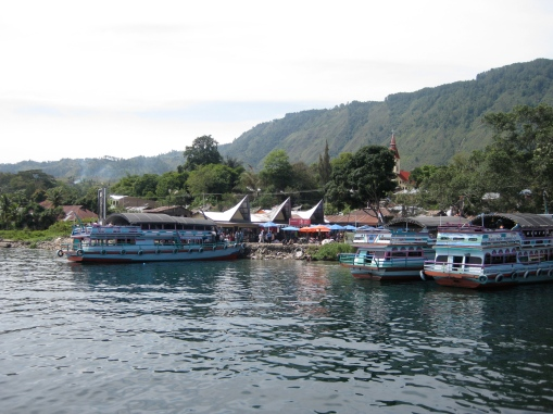 Scenery of Lake Toba