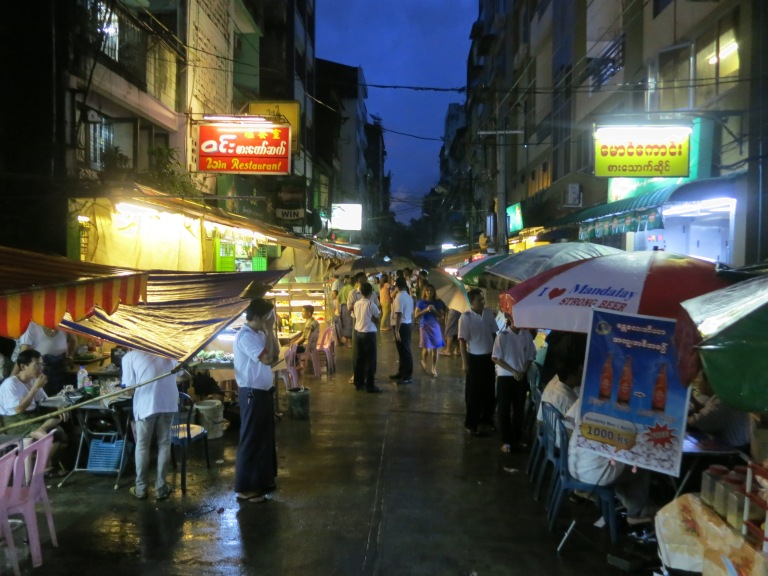 Day or night, Yangon is interesting
