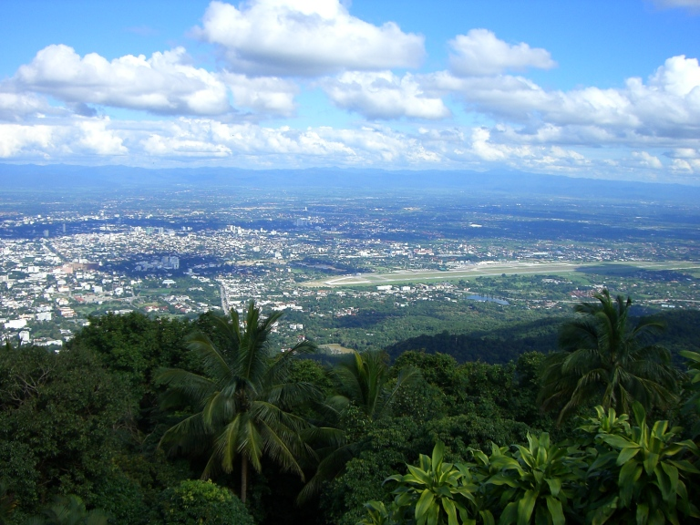 A view over Chiang Mai