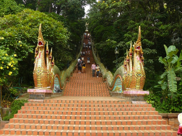 At the foot of Wat Phrathat Doi Suthep
