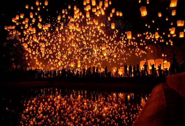Chiang Mai's Loy Krathong festival