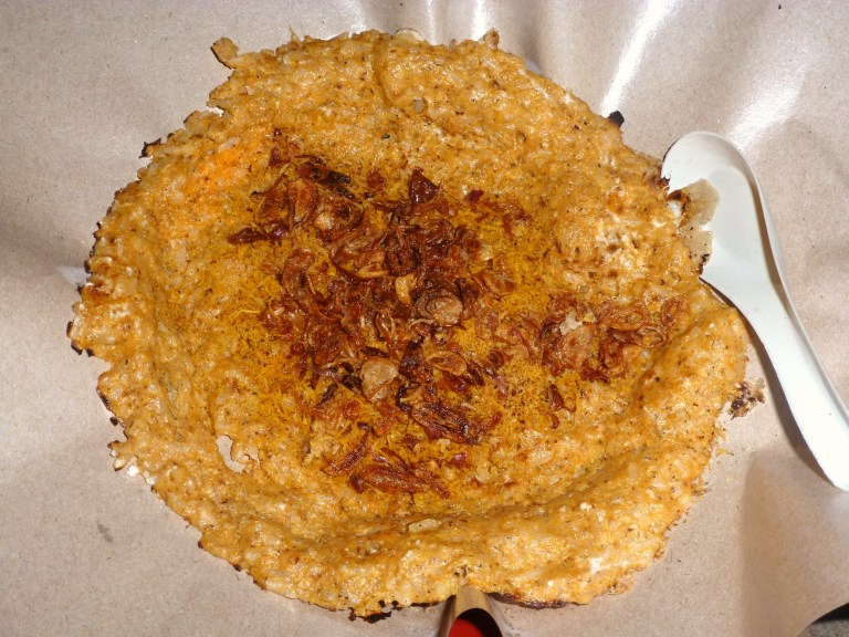 Kerak Telor is a spicy pancake