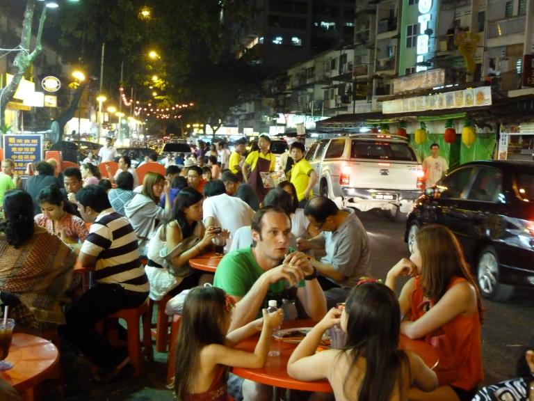 Jalan Alor has a fantastic atmosphere