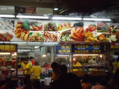 Sumptuous food at Jalan Alor in KL