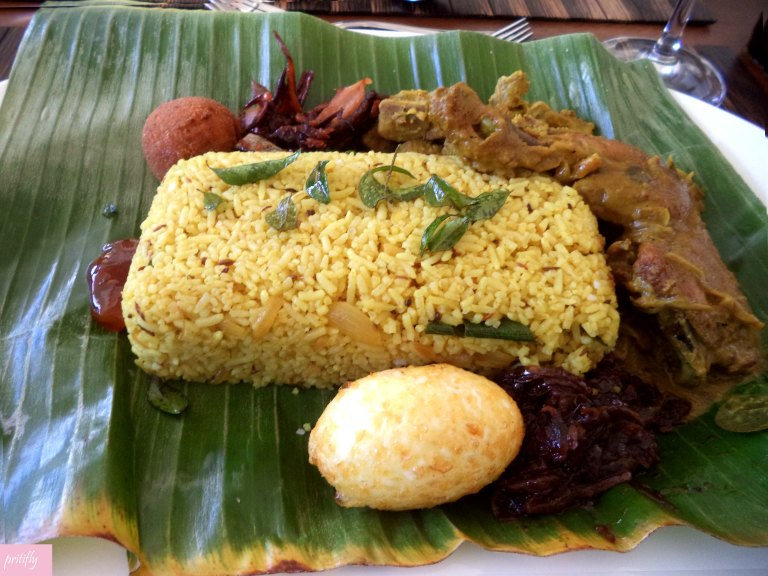 My first meal in Kandy (and my first proper Sri Lankan meal ever)