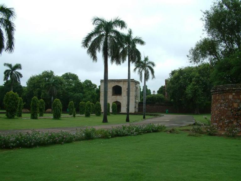 The Lodhi Gardens are a nice place for a stroll