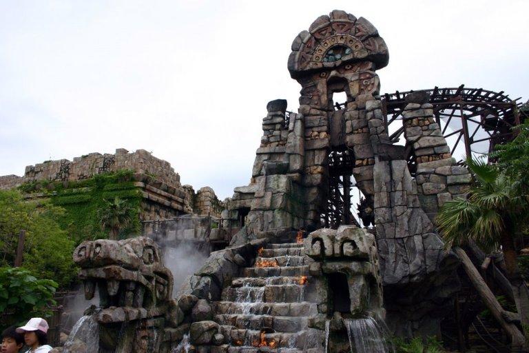 Spectacular Aztec scenery in Lost River Delta