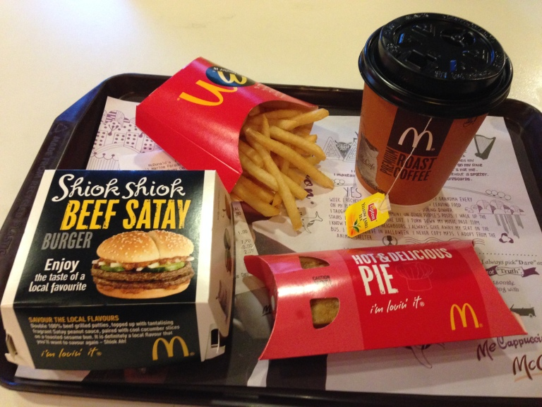 A McDonald's Meal - but not as you know it!