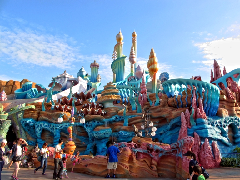 The outdoor section of Mermaid Lagoon