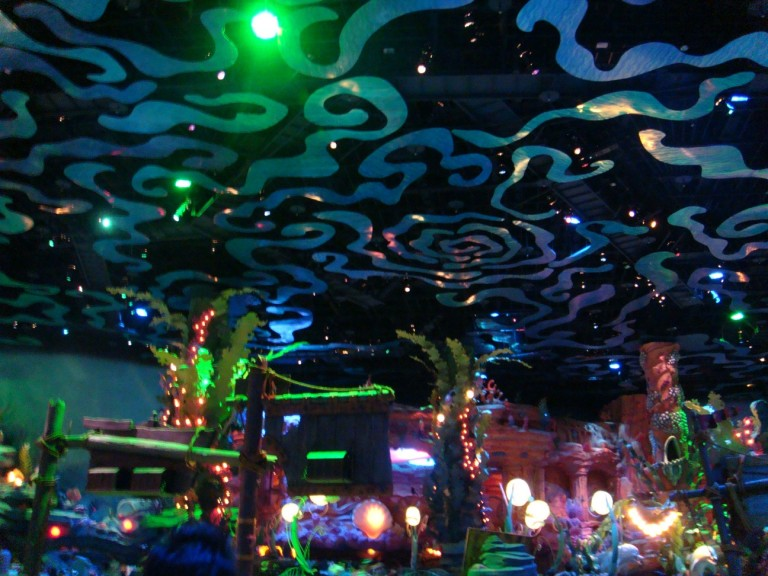 In the indoor area of Mermaid Lagoon is designed entirely for small children