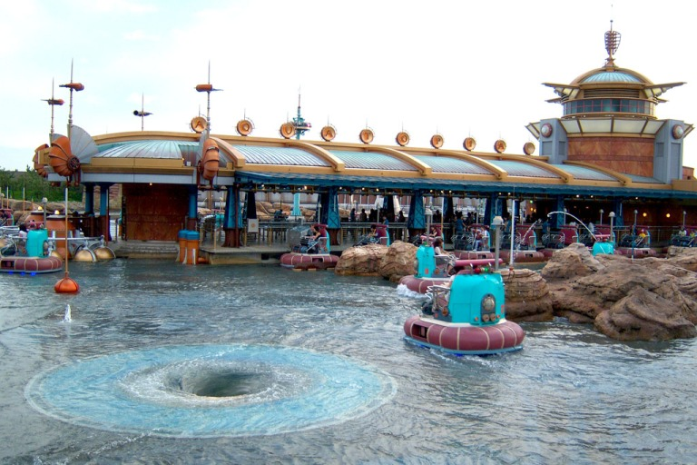 AquaTopia is a fun ride for children