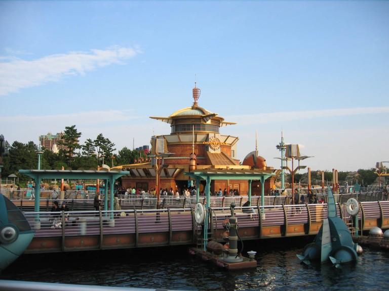 Futuristic designs in Port Discovery