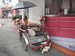 Sleepy drivers in Penang
