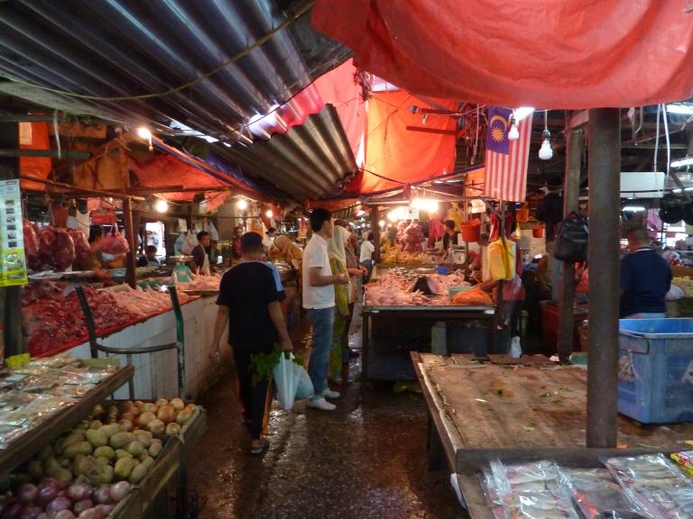 Penang's markets form the culinary capital of Malaysia