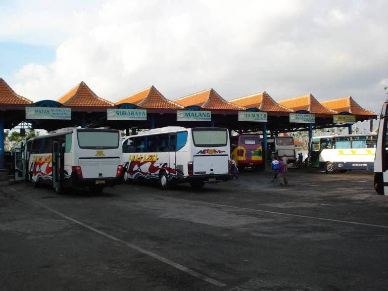 Surabaya Bus Terminal is where you catch your ride to Probolinggo